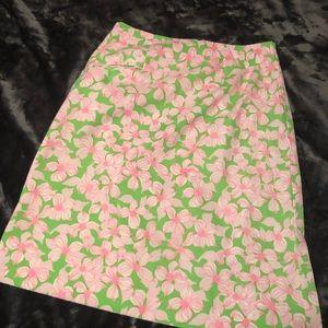 Lily Pulitzer pencil skirt